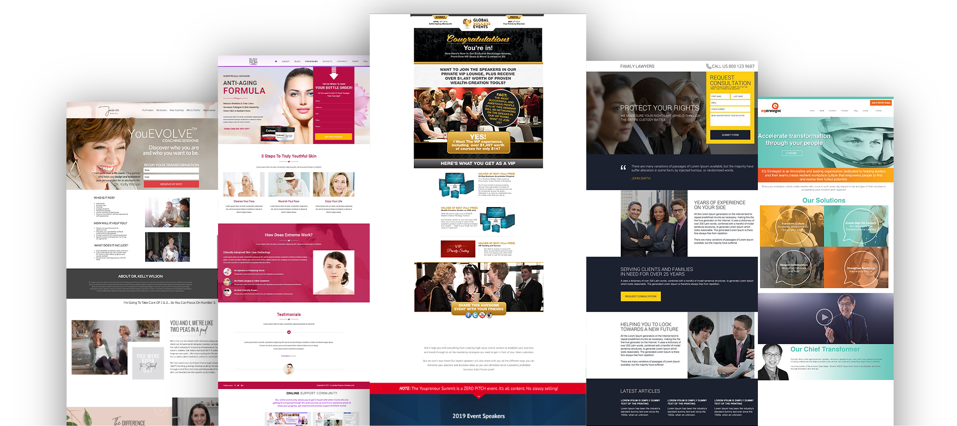 Explosion Marketing-landing-pages
